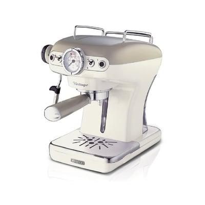 Vintage Espressomaskine, creme