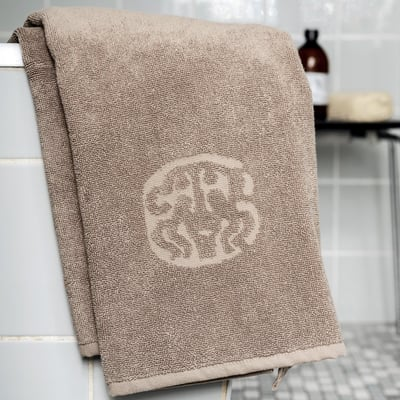 Original Damask håndklæde - walnut 40x 70 cm.