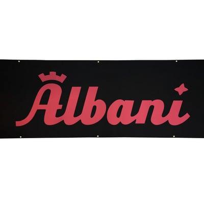 Banner, filt, (25M pr rulle), Albani