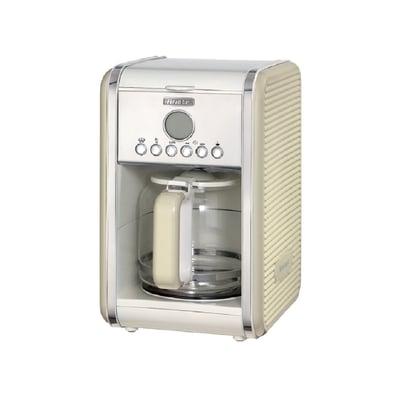 Vintage filter kaffemaskine, creme