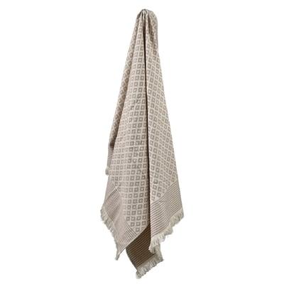 INU hammam håndklæde 75x150 cm, natur
