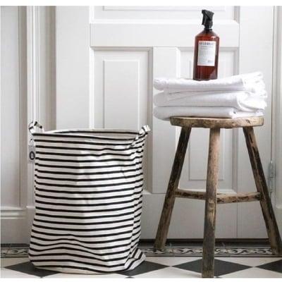 Vasketøjspose stripe