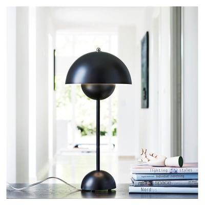 Flowerpot bordlampe - sort