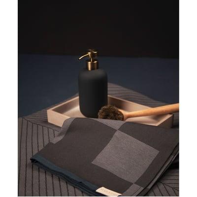 Notabene viskestykke 2 stk - mørk grå