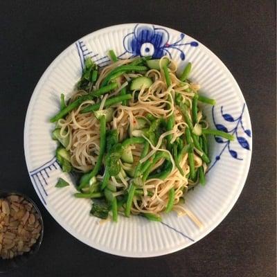 Blå Mega Mussel Pastafad