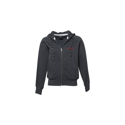 Sweat Full zip Hooded in Dark Grey - Ladies