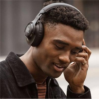 Club One over ear hovedtelefoner, sort