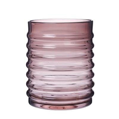 Willy vase Ø:21 cm. - Burgundy