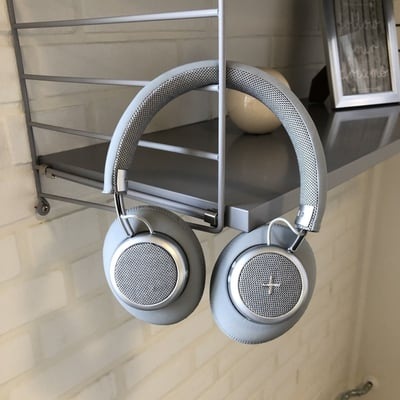 TOUCHit over-ear headphones - silver