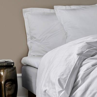 KVADRAT økologisk sengelinned, 2 sæt