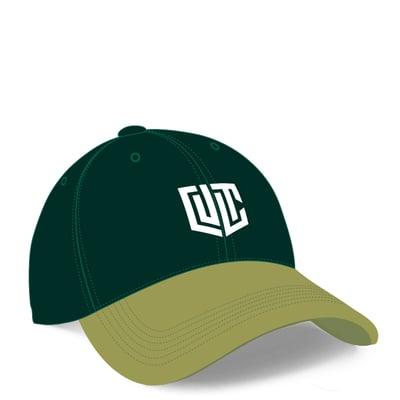 CULT, grøn kasket
