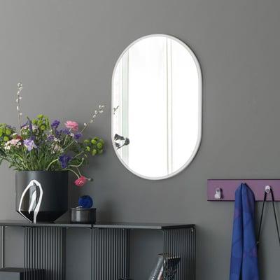LOOK spejl, hvidt