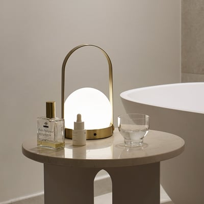 Carrie LED lampe - Brass