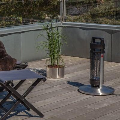 Infrarød terrassevarmer 1200 watt