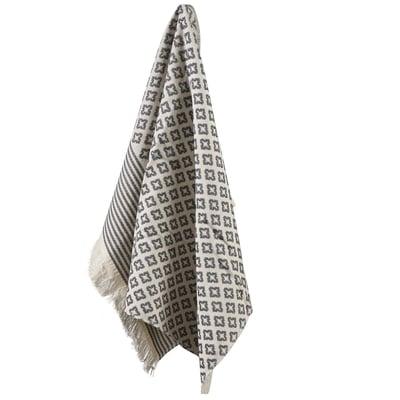 INU hammam håndklæde 70x50 cm, grå