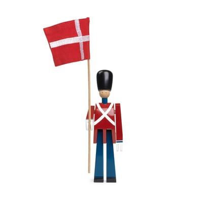 fanebærer med tekstilflag