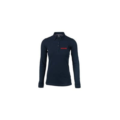 Carlington L/S polo - Ladies, Navy