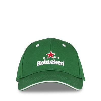 Cap, grøn - Heineken