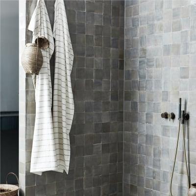 Casa håndklæde, råhvid 140x70 cm - 2 stk