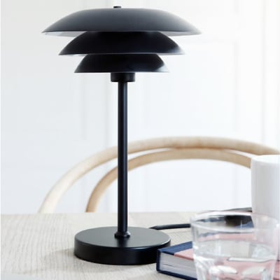 Bordlampe DL20, sort