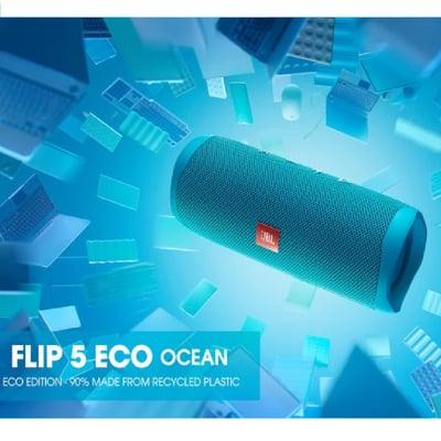 Flip 5 Eco Edition højttaler, blå