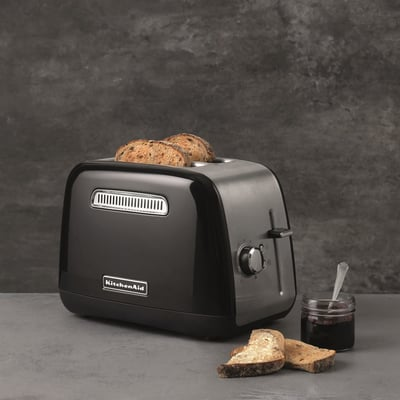 Klassisk toaster - sort